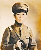 Yoshiko was named a Major, and often dressed in men's clothes.