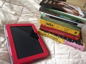 Readathon April 2015  Reading Pile